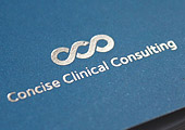 Concise Clinical Consulting Corporate Identity & Brand>