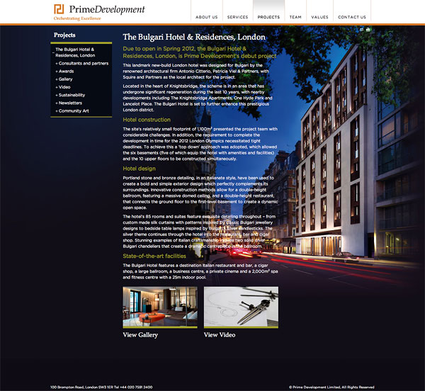 Prime development consultants in design for Design and development consultants